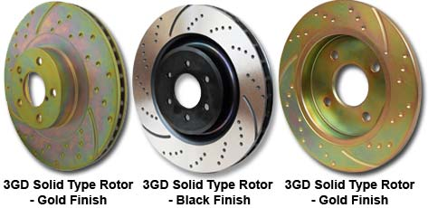 EBC Brakes GD368 3GD Series Dimpled and Slotted Sport Rotor